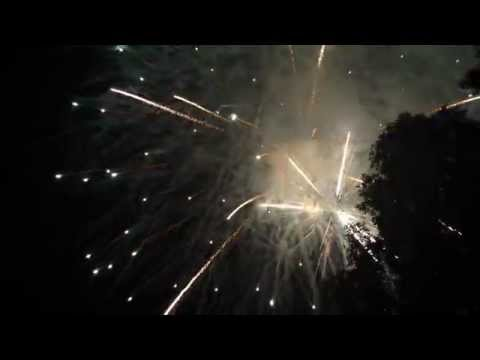 Fireworks at Blossom Music Center July 3rd 2014