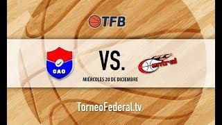 Mesopotamia: Club Atlético Olimpia de Paraná vs. Central Entrerriano   #TFB
