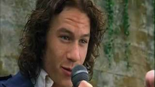 Heath Ledger acting in every one of his movies