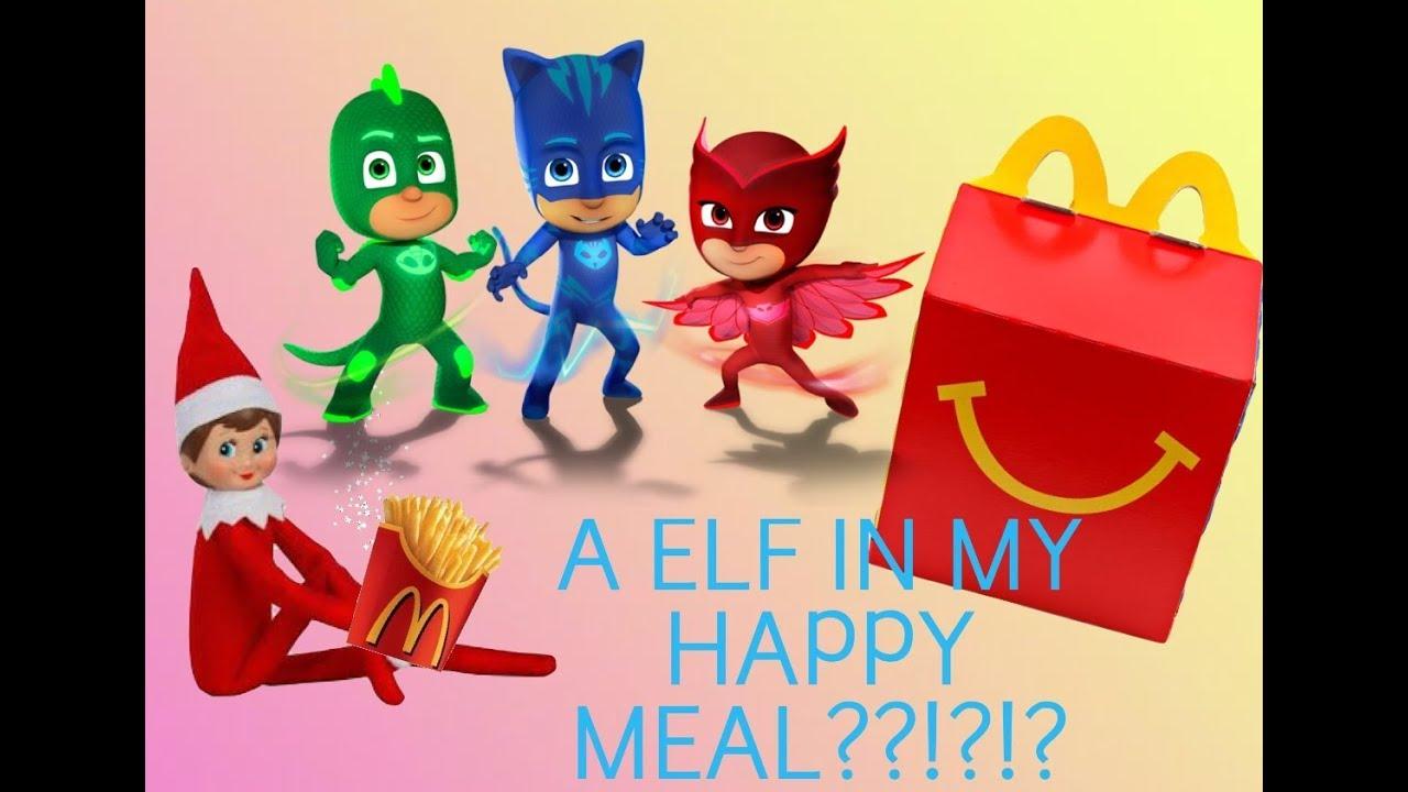 BAD ELF Inside My McDonaldu0027s Happy Meal! Elf On The Shelf 2017. PlayGo Fun