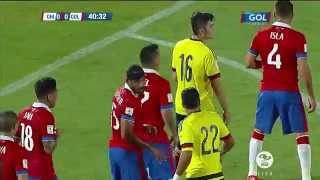 Chile Vs Colombia 1 - 1 Eliminatorias Rusia 2018 (Nov 12 2015) (Full HD 1080p) (Resumen Completo)