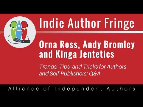 Trends, Tips, and Tricks for Authors and Self-Publishers: Q&A