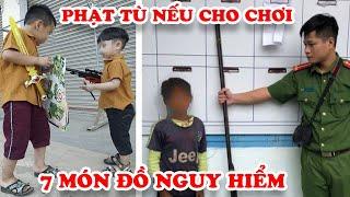 Tuổi Thơ Dữ Dội Với Những  Món Đồ Chơi Tuổi Thơ 8x 9x Nhưng Bây Giờ Bị Cấm Tại Việt Nam