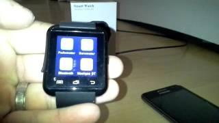Smartwatch u8 BT notification
