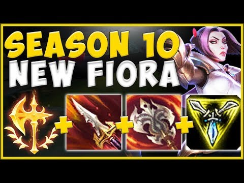 HOW IS RIOT NOT NERFING THIS KEYSTONE?? S10 CONQ FIORA IS 100% ABSURD! - League Of Legends Gameplay