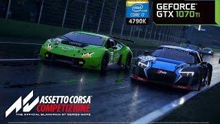 Assetto Corsa Competizione (Early Access) - GTX 1070 Ti & i7 4790K | PC Max Settings 1440p