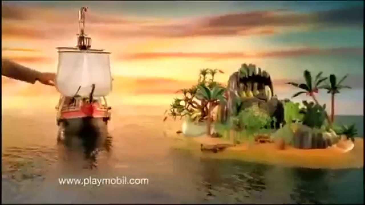 Playmobil barco pirata de ataque 5135 youtube for Barco pirata playmobil