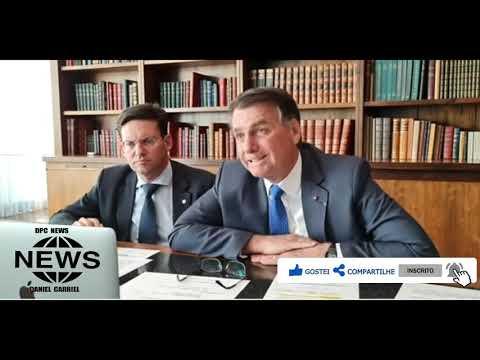 """BOLSONARO:  """"Barroso apavorou parlamentares e voto impresso será derrotado"""""""