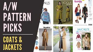 Autumn Sewing Pattern Picks 5 - Coats & Jackets