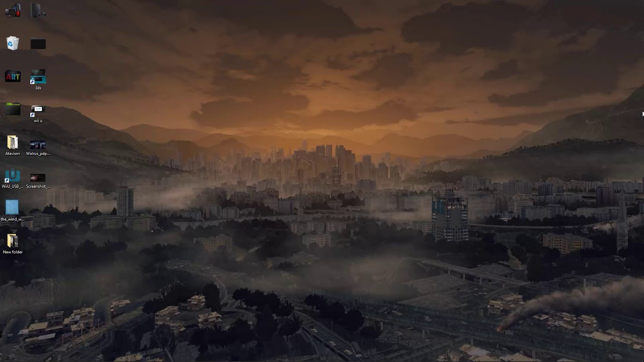 Dying Light Golden City 4k Live Wallpaper Free Download Youtube
