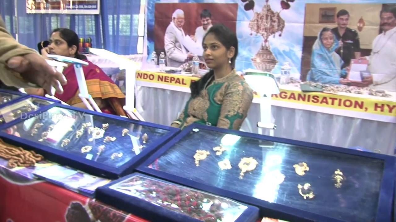 Indo-Nepal Rudraksha Organization Representative speaking to Desiplaza TV.