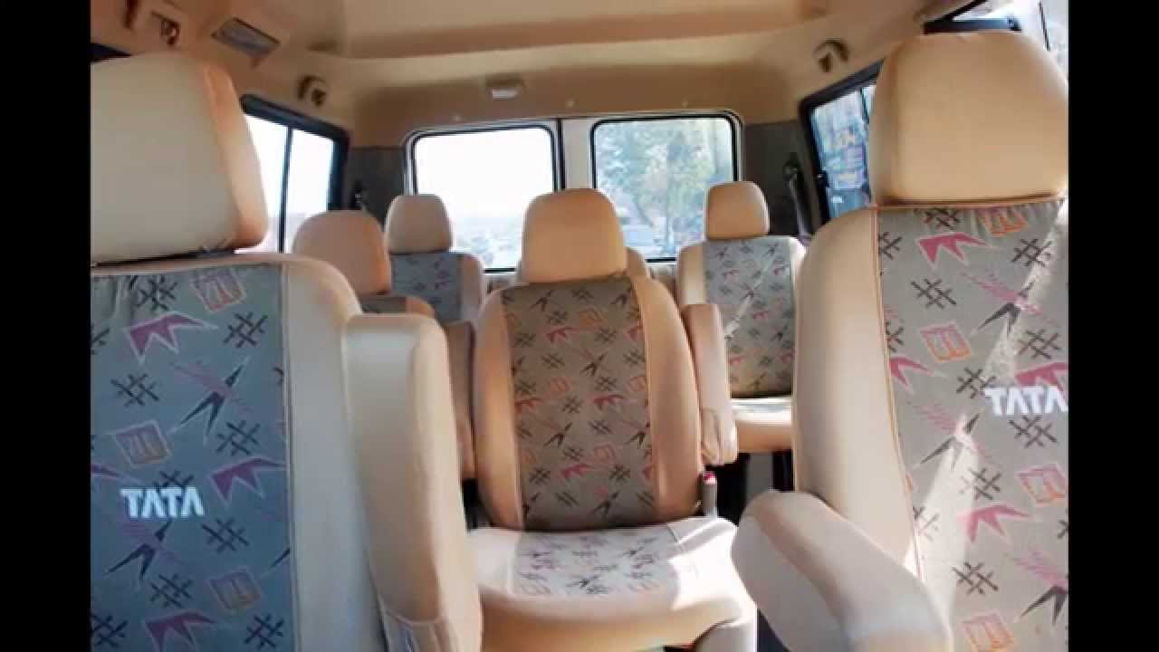 7 Seater Hire >> Tata Winger Platenium 7 Seater For Hire Rental In Pune - YouTube