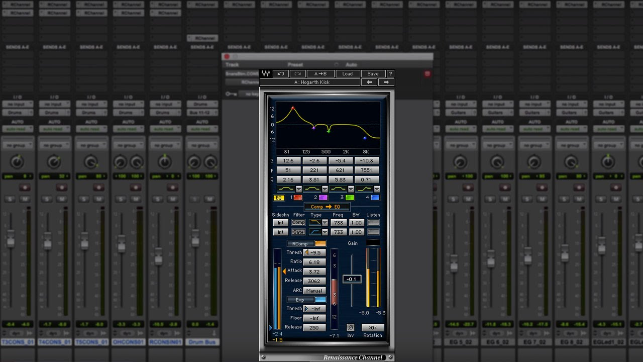 How To Mix With Just One Plugin Waves Renaissance Channel Youtube