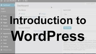 [11.96 MB] WordPress Tutorial 1: Introduction