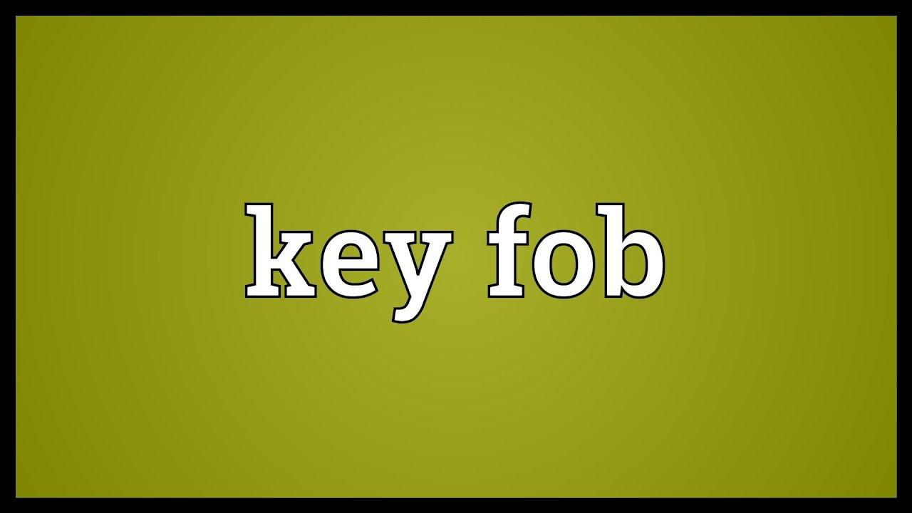 Car Remote Key >> Key fob Meaning - YouTube
