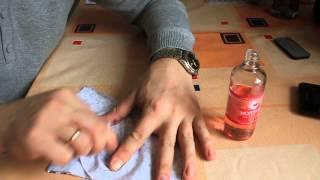 видео Чем отстирать чернила от ручки с одежды