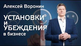Установки и Убеждения в Бизнесе. Алексей Воронин