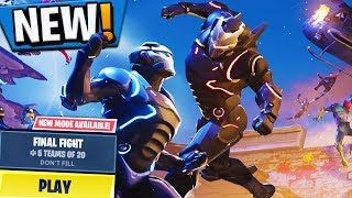 "*NEW* STINK BOMB UPDATE! ""FINAL FIGHT LTM"" Stink Bomb In Fortnite Battle Royale (Fortnite LIVE)"