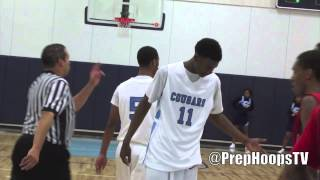 Josh Jackson 2016 Detroit Consortium Prep highlights vs Ecorse with two dunks
