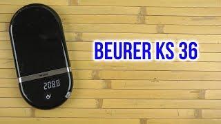 Розпакування BEURER KS 36