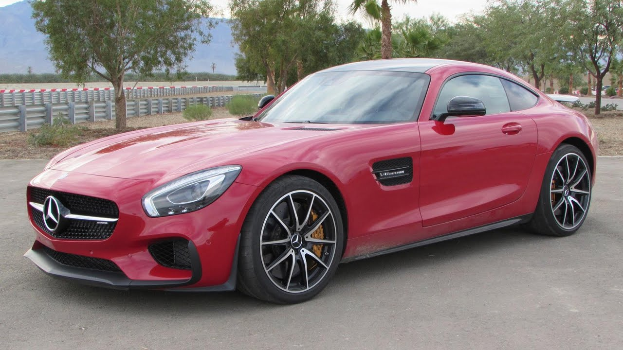 2016 Mercedes-AMG GT S (Edition 1) Start Up, Road Test, and In Depth ...