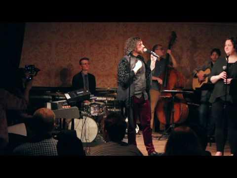 Bryan DeSilva and Janet Williams sing