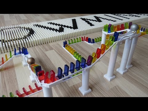 Amazing Domino Tricks with WOWMINOs