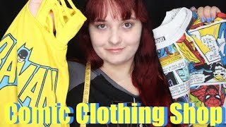 Comic Clothing Shop ~ ASMR Role Play (Soft Spoken)