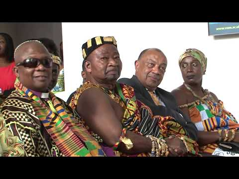 GHANA A NATION IN RETROSPECTIVE FESTIVAL AT VICTORIA AND ALBERT MUSEUM LONDON