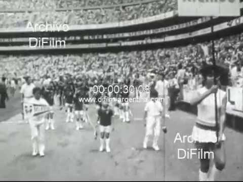 DiFilm  Ceremonia inaugural del IX campeonato mundial de futbol 1970
