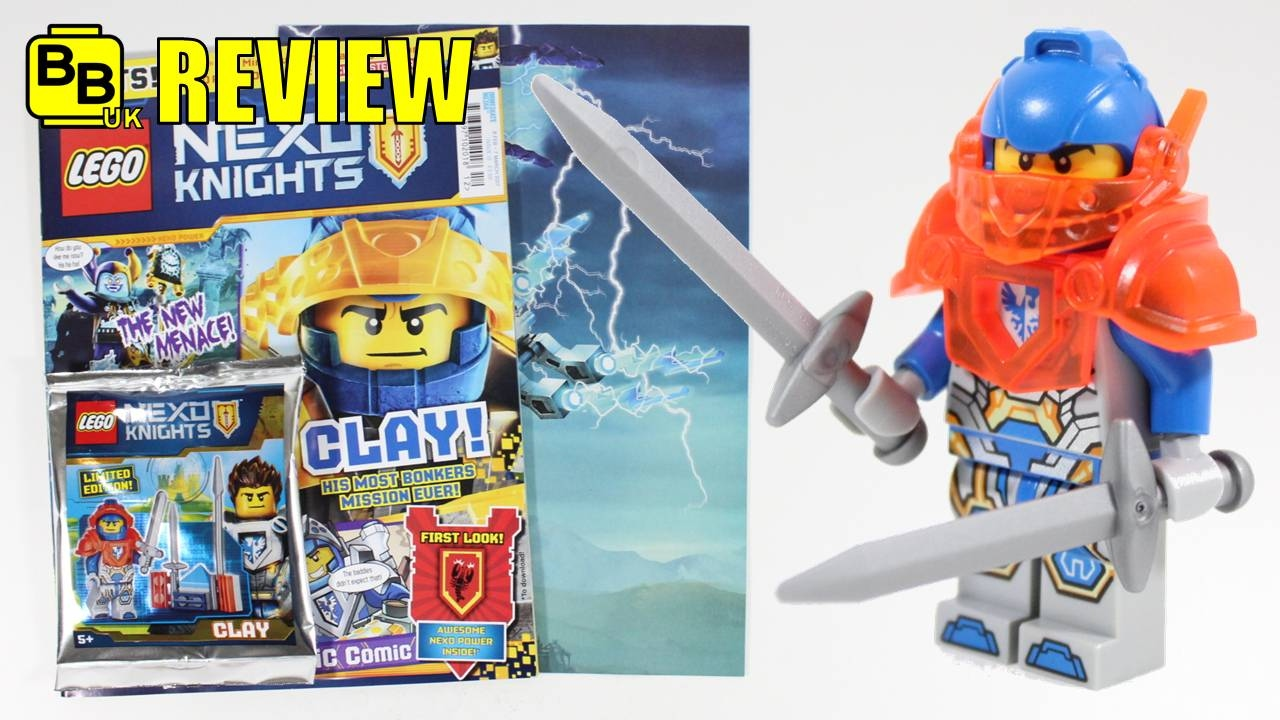 LEGO FIGURINE POLYBAG LIMITED MINIFIGURE NEXO KNIGHTS AARON VERSION 2