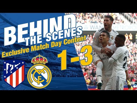 Atlético Madrid 1-3 Real Madrid | EXCLUSIVE DERBY CONTENT