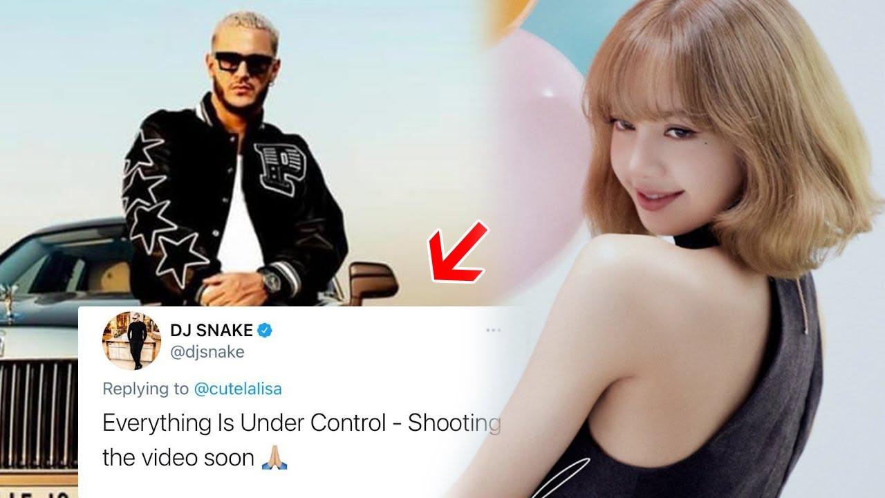DJ Snake drops update 0n C0llab with BLACKPINK's Lisa in deleted Tweet