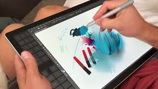 Surface Book 2 Artist Review Preview