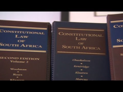 South Africa's constitution being scrutinized