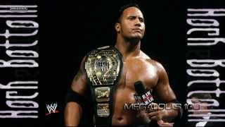 1998-1999: The Rock 10th WWE Theme Song -