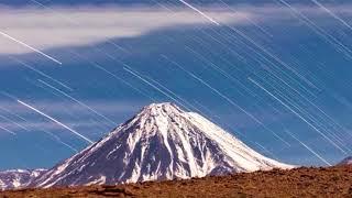 Светопись. Фото 153. dx/dt над вулканом Ликанкабур