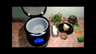 Рецепты для мультиварки - спагетти в сливочно-ореховом соусе в мультиварке