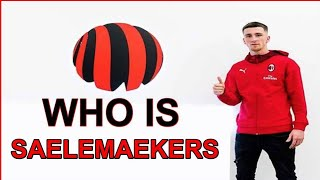 Who is Alexis Saelemaekers? New transfer of AC Milan.