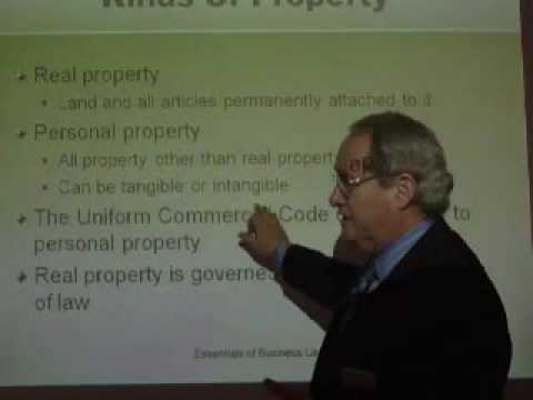 Real and Personal Kinds of Property