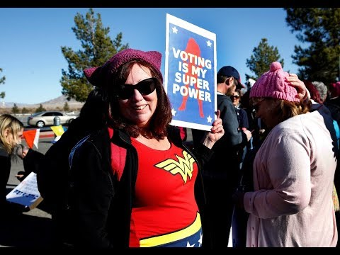 PBS NewsHour: Women's March focuses on voter registration at Las Vegas event