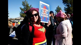 Womens March focuses on voter registration at Las Vegas event