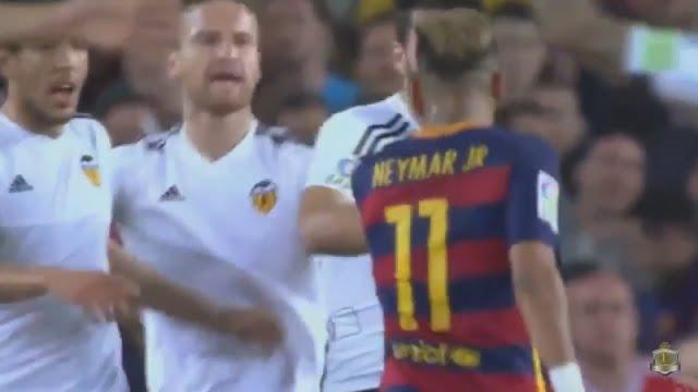 Neymars Behaviour: This is what happens