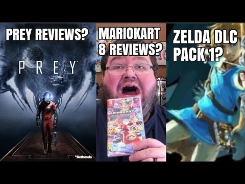 Gaming News – Prey Reviews, Mario Kart 8 Reviews, Zelda DLC Pack, 2ds XL