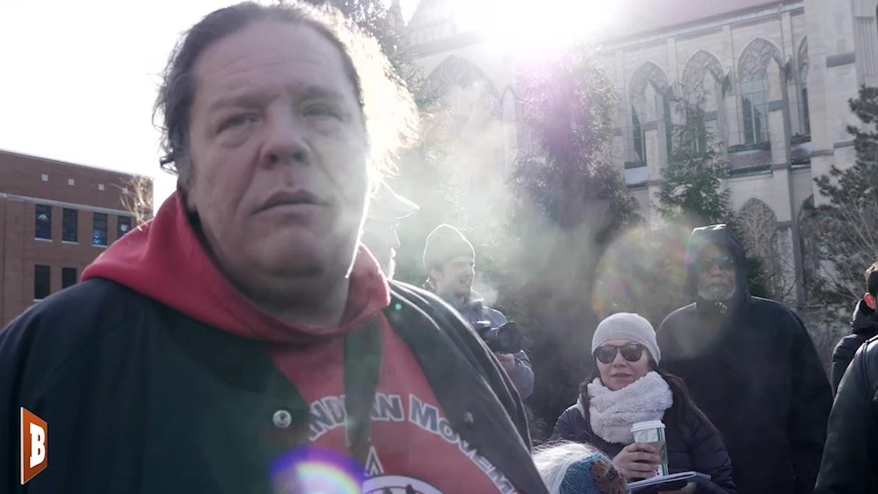 Despite Video Evidence, Leftist Activist Still Denies 'Go Back To Europe' Slurs Happened