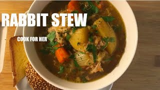 HOW TO MAKE RUSTIC RABBIT STEW