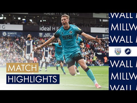 West Brom Millwall Goals And Highlights