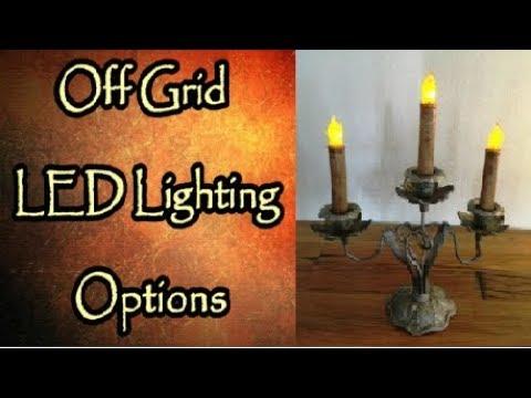 Off Grid Lighting Options
