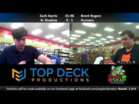 Modern w/ Commentary 5/1/18: Zach Harris (4c Shadow) vs. Brent Rogers (Humans)