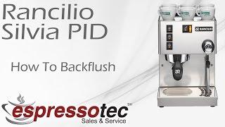 Rancilio Silvia PID - How to Backflush